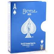 Clip Card - Bicycle 808 Bleu