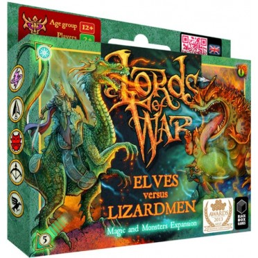 Lords of War: Elves vs Lizardmen 2 - The Magic and Monsters Expansion