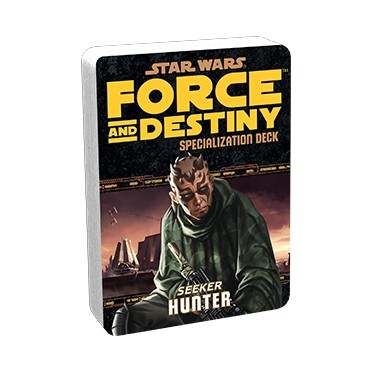 Star Wars: Force and Destiny - Hunter Specialization Deck