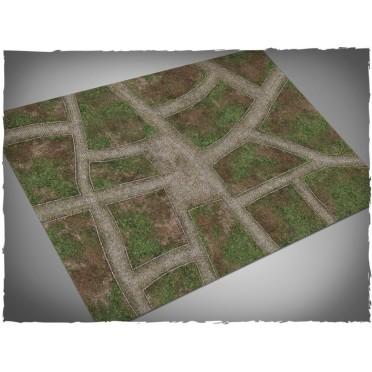 Terrain Mat PVC - Cobblestone Streets - 120x180