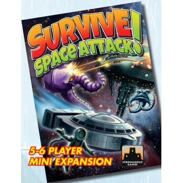 Survive - Space Attack - 5-6 players expansion