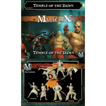 Malifaux 2nd Edition Temple of the Dawn