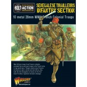 Bolt Action - French - Senegalese Tirailleurs Infantry section