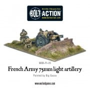 Bolt Action - French - 75mm Light Artillery