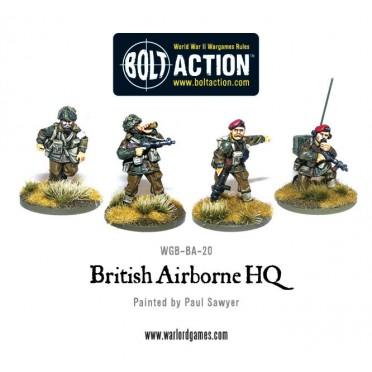 Bolt Action - British - Airborne HQ