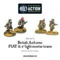 Bolt Action - British - Airborne PIAT and Light Mortar teams 1
