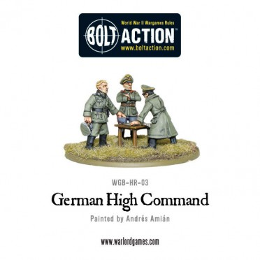 Bolt Action - German - High Command