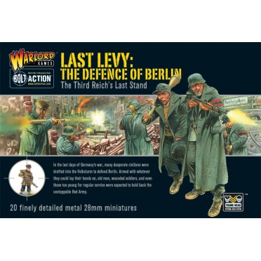 Bolt Action - German - Last Levy, the Defence of Berlin