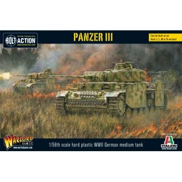 Bolt Action - German - Panzer III (Plastic Box)