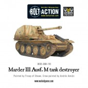 Bolt Action - German - Marder III Ausf. M tank destroyer