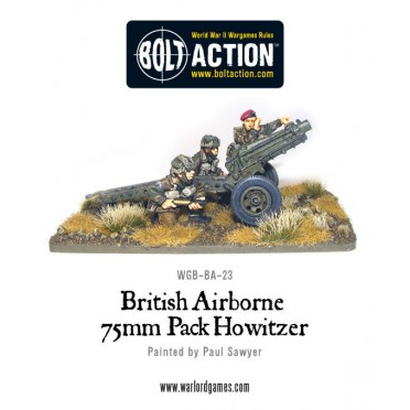 Bolt Action - British - Airborne 75mm Pack Howitzer