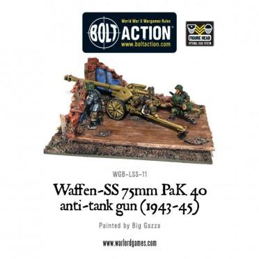 Bolt Action - German- Waffen-SS 75mm PaK 40 anti-tank gun (1943-45)