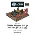 Bolt Action - German- Waffen-SS 75mm PaK 40 anti-tank gun (1943-45) 2