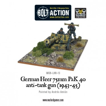Bolt Action - German - German Heer 75mm PaK 40 Anti-Tank Gun (1943-45)