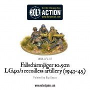 Bolt Action - German - Fallschirmjager 10.5cm LG40/1 Recoilless Artillery (1943-45)