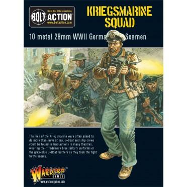 Bolt Action - German- Kriegsmarine Squad