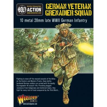 Bolt Action - German- Veteran Grenadiers Squad