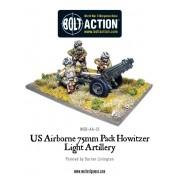 Bolt Action - US - Airborne 75mm pack howitzer light artillery
