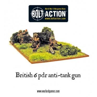 Bolt Action - British - British Army Six Pounder AT Gun