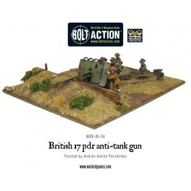 Bolt Action - British - British Army 17 Pdr Anti-Tank Gun