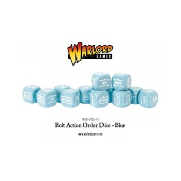 Bolt Action - Bolt Action Orders Dice packs - Blue