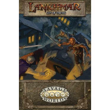 Lankhmar : City of Thieves (softcover)