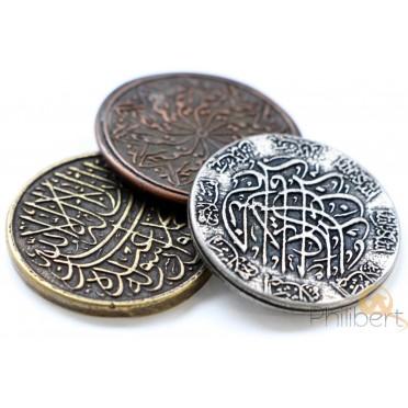 Set de Pièces Métal - Arabe