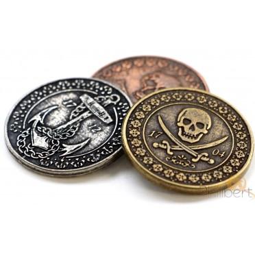 Set de Pièces Métal - Pirate