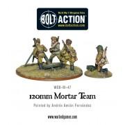 Bolt Action - Soviet Army 120mm heavy mortar team