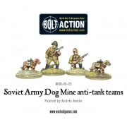 Bolt Action - Soviet - Army Dog Mine anti-tank teams team