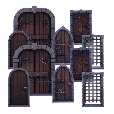 Dungeon Saga : Doors Pack