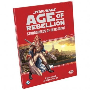 Star Wars : Age of Rebellion - Strongholds of Resistance