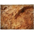 Terrain Mat PVC - Red Planet - 90x90 3