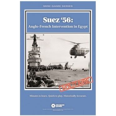 Mini Games Series - Suez '56: Anglo-French Intervention