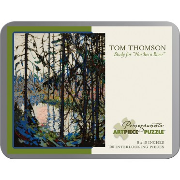 "Puzzle - Study for ""Northern River"" de Tom Thomson - 100 Pièces"