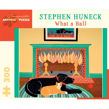 Puzzle - What a Ball de Stephen Huneck - 300 Pièces