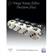 Bushido - Kage Kaze Faction Dice