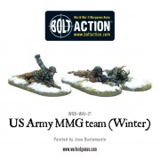 Bolt Action - US - MMG team (Winter) - Prone