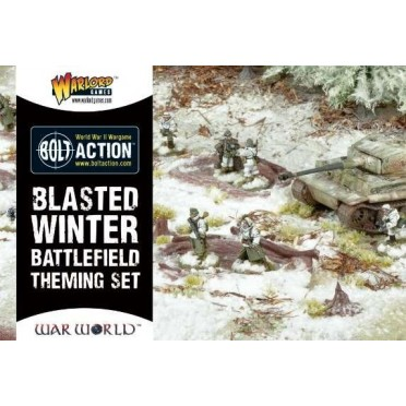 Bolt Action - Blasted Winter Battlefield Theme Set