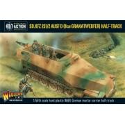 Bolt Action - German - Sd.Kfz 251/2 Ausf D (8cm Granatwerfer) Half Track (Plastic Box)
