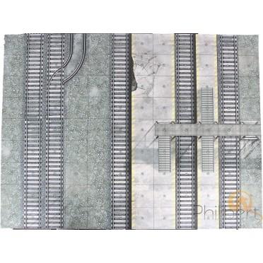 Dust - Achilles Train Station Vinyl Mat B