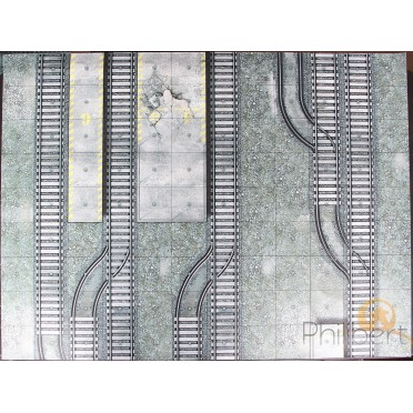 Dust - Achilles Train Station Vinyl Mat C