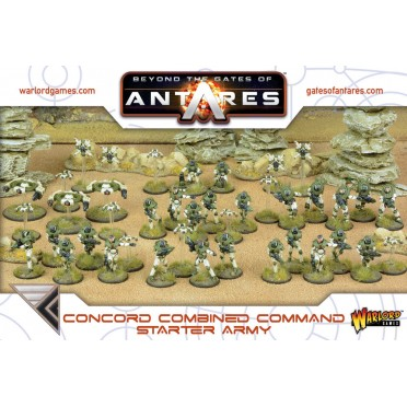 Antares : Concord Combined Command Starter Army
