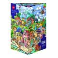 Puzzle - Happytown de Rita Berman - 1500 Pièces 0