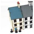 Rue 20ème siècle - Maison de gauche et/ou de droite à deux étages 0