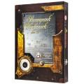 Set de 7 Dés JDR - Steampunk Clockwork - Noir/Blanc 2