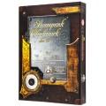Set de 7 Dés JDR - Steampunk Clockwork - Caramel/Blanc 2