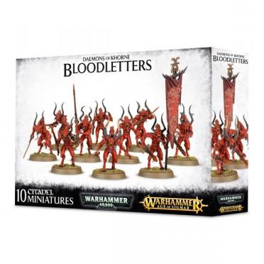 Chaos Daemons : Khorne - Bloodletters