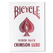 Bicycle : Rider Back - Crimson Luxe