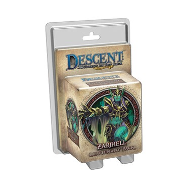 Descent : Zarihelll Lieutenant Pack